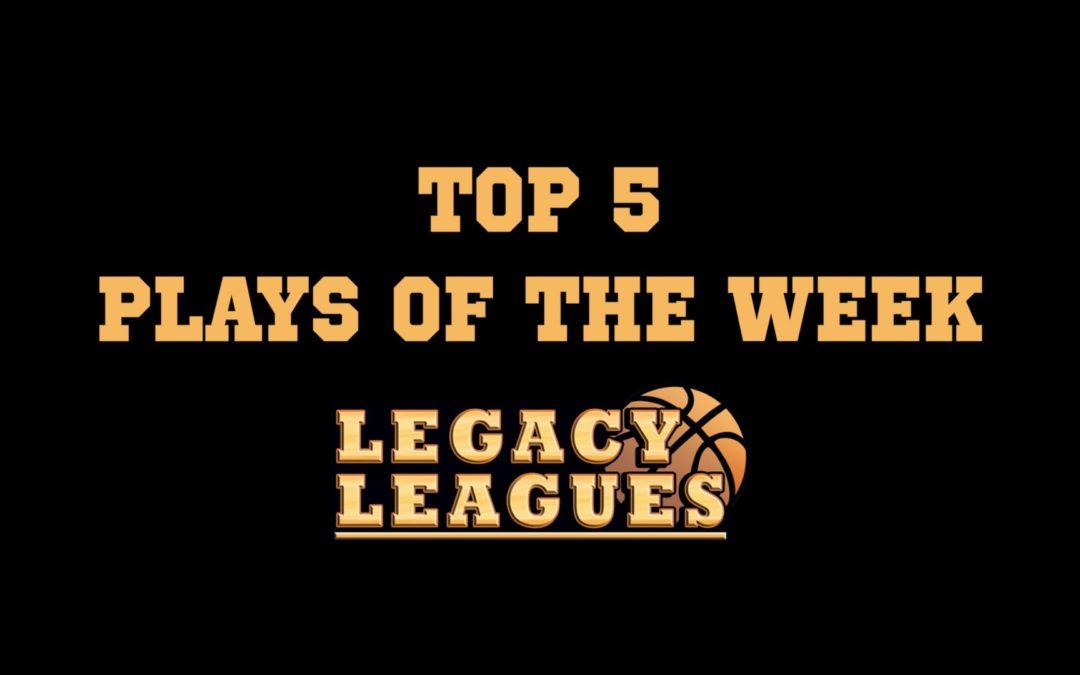 Top 5 Plays of Week 8