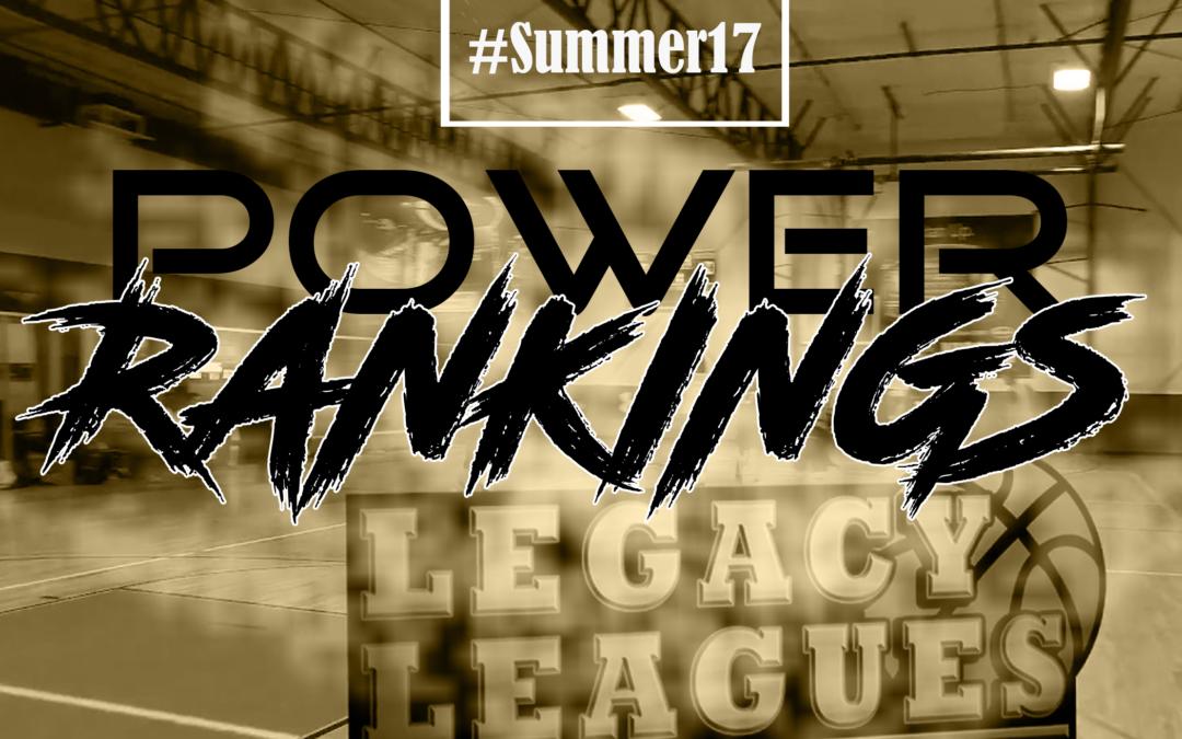 Week 1 Power Rankings