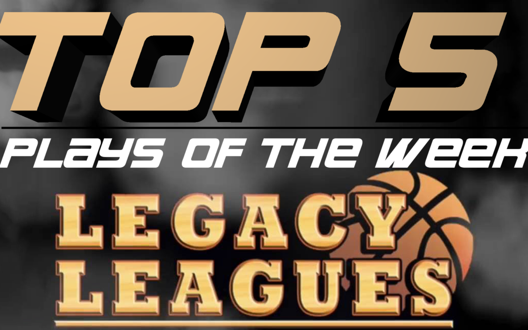 Top 5 Plays of Week 5