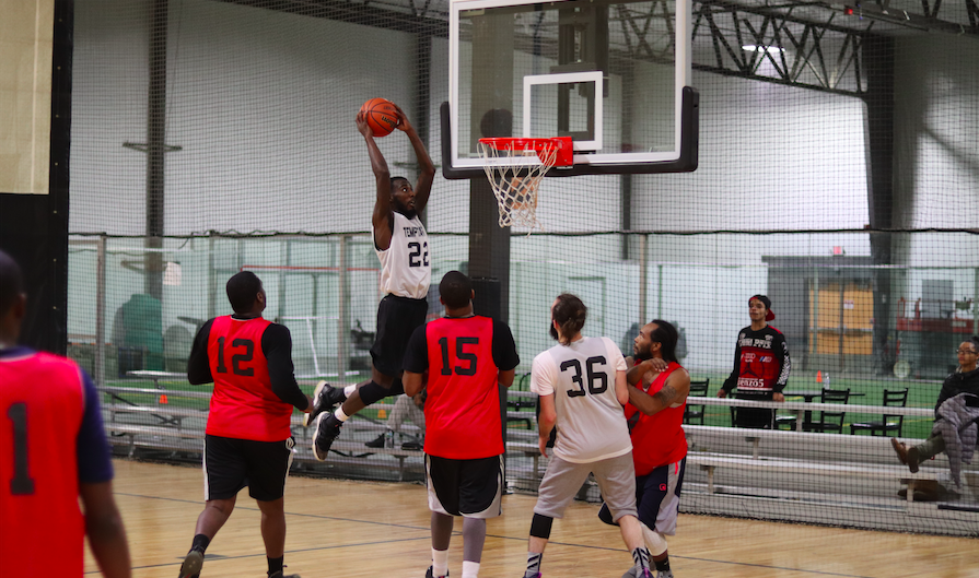 Santorelli returns, Temptations bounce back with victory over Rim Breakers