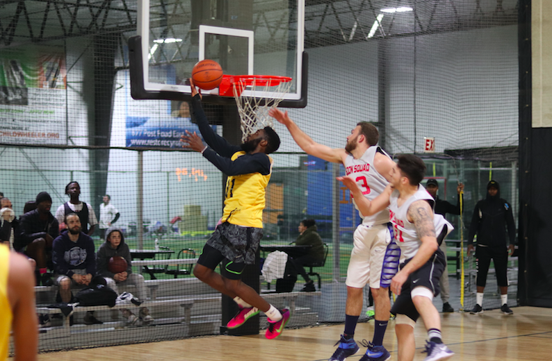 No Limit pulls away late, continues undefeated run with win against Goon Squad