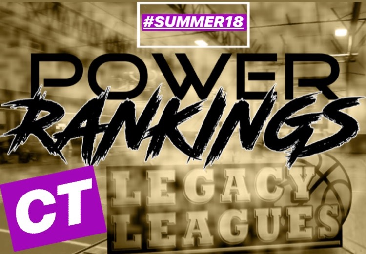 Week 2 Power Rankings CT