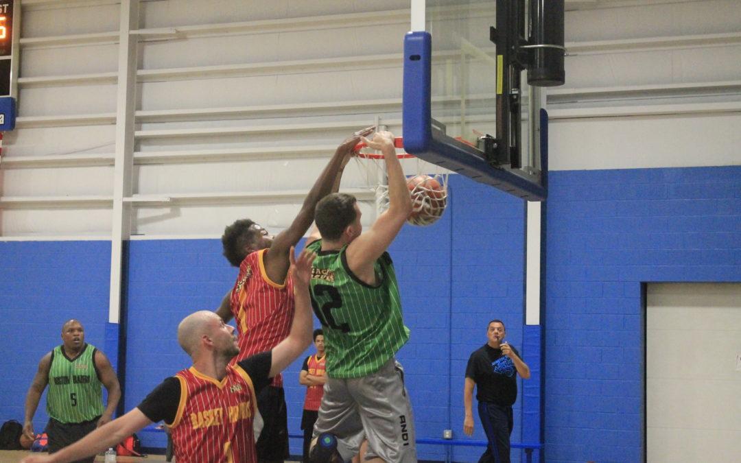 Boston Blazers burn the Basket Hounds