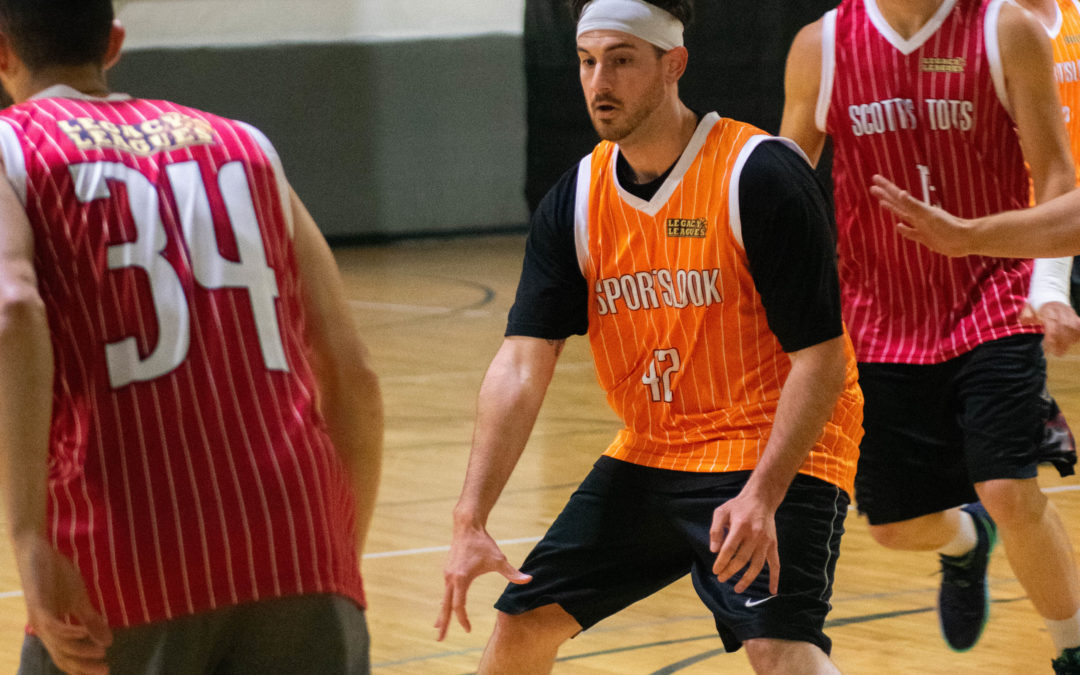 Sportslook shows off their hometown chemistry in a win over Scott's Tots