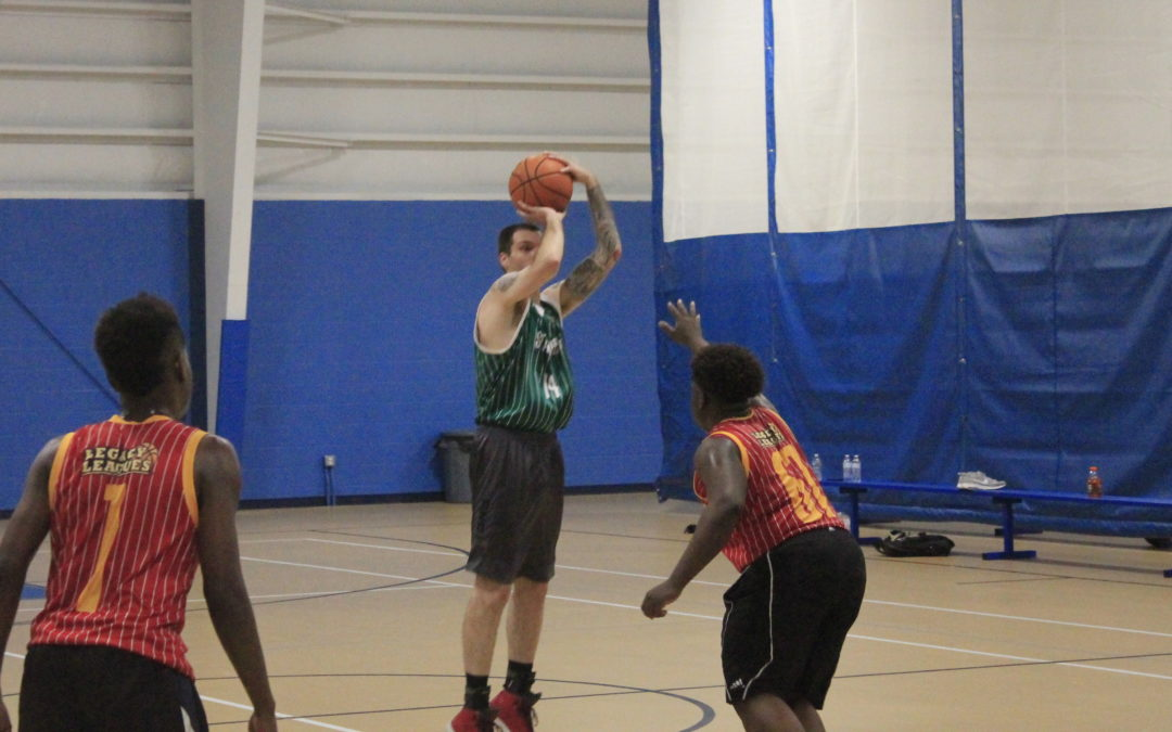 Stampede uses size, grit to put away Basket Hounds