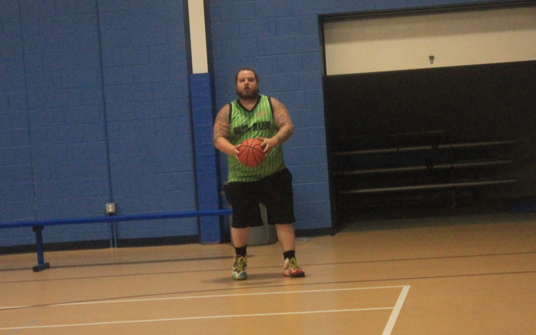 Speed and size leads Boston Blazers narrowly past the Shady Dunkers