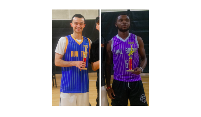 Zocco and Battle take home hardware from All-Star Night